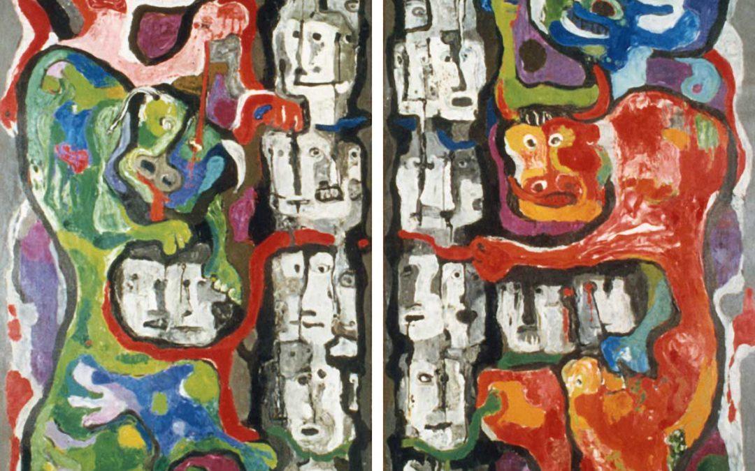 Astrominotauro-Laberinto (París) (Díptico)