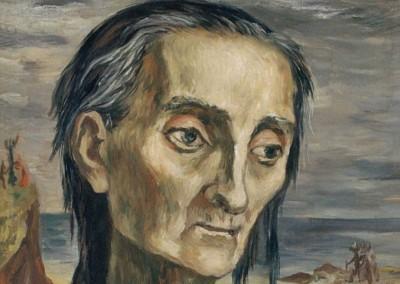 """El Hambre (Cabeza-Figura de """"El Juicio"""")"""