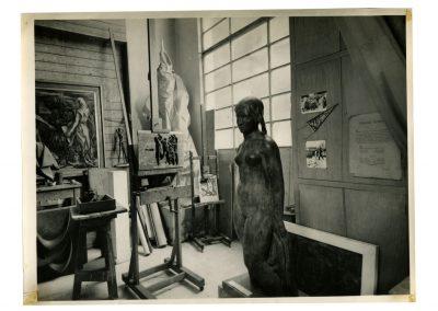 Taller de A. Bigatti a la fecha de su fallecimiento (1964)