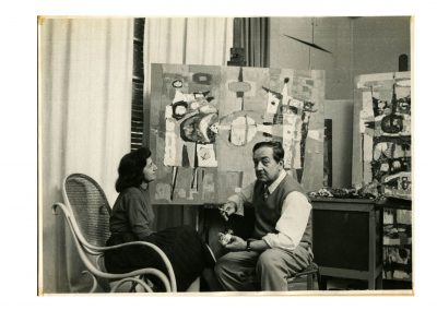 Raquel Forner y Alfredo Bigatti