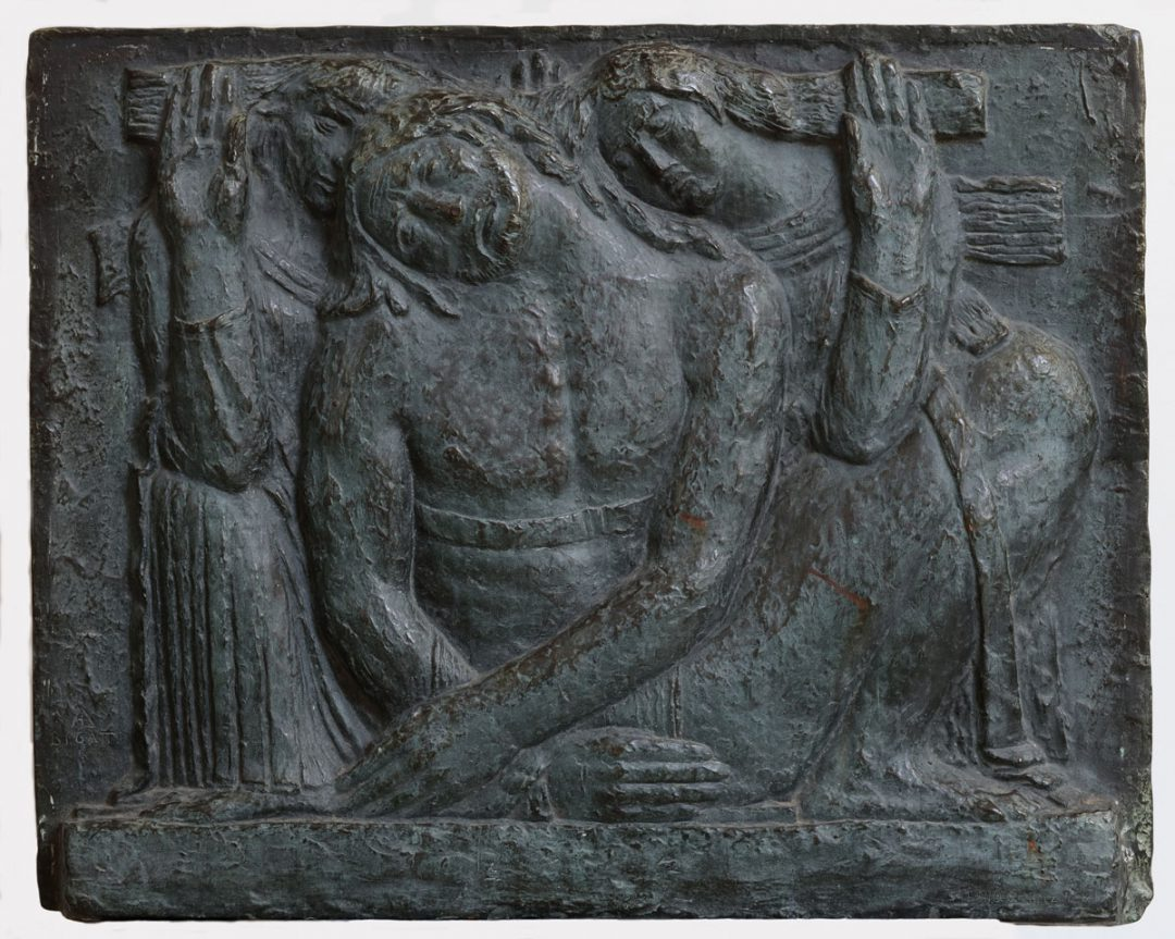 Bajorrelieve funerario