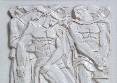 Relieve funerario – Monumento al Profesor A. Mantovani (boceto)