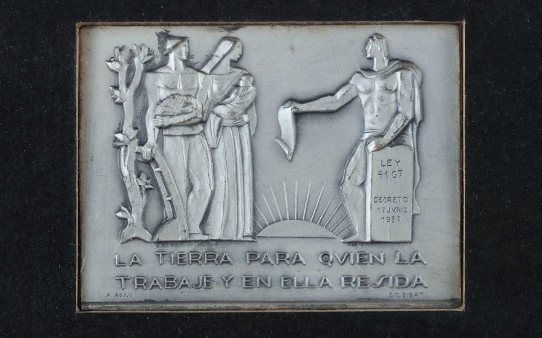 Conmemoración Ley de Tierras 4167