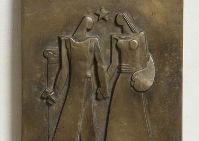 El escultor y la pintora