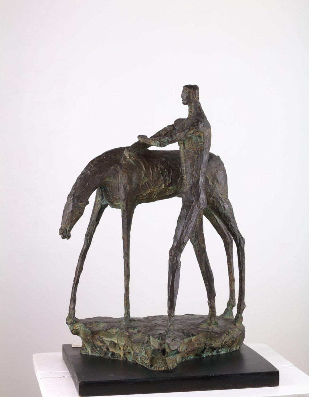 Hombre y caballo II