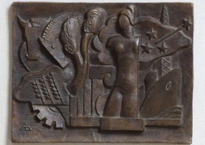 Riquezas naturales de la Argentina  (boceto-bronce)