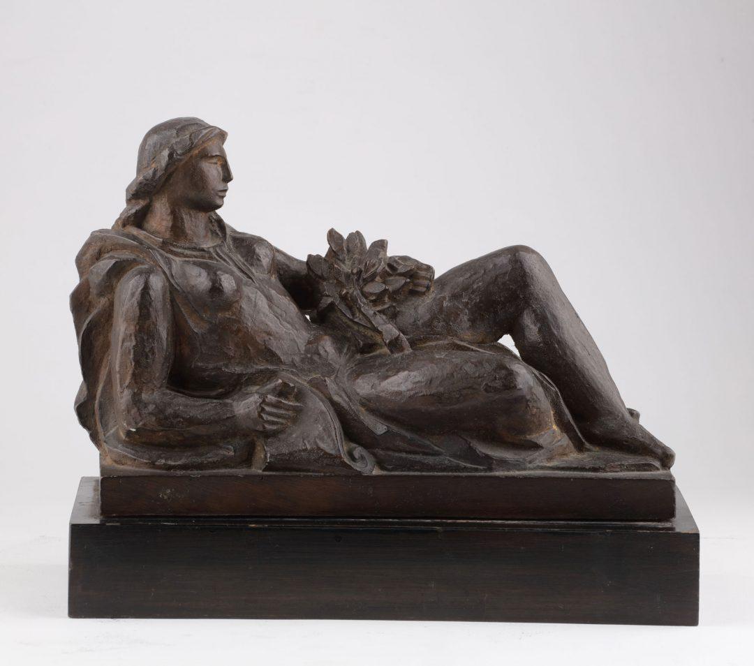 La Historia (proyecto de monumento a J.B. Alberdi)