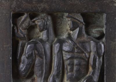 Los colonizadores (Boceto del monumento al General Roca)